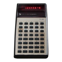 Texas Instruments TI-30 Calculator Hire
