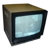 "TV & Video Props Generic 9"" Mono Display"