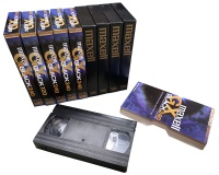 Maxell VHS Video Tapes Hire