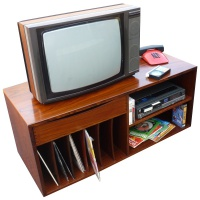 TV, Phone and Sony Betamax Video Recorder Set-up Hire