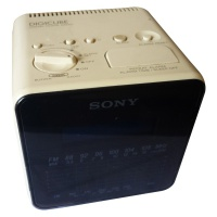 Sony Digicube - Digital Clock Radio - ICF-C10L