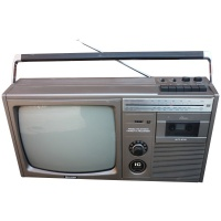Sharp 12P-29H Radio/Television Boombox Hire