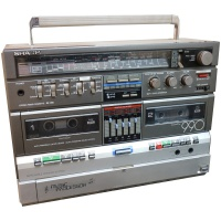 Sharp GF-990G Ghetto Blaster Hire