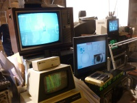 Hitachi TV and Commodore PET  Hire