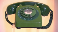Green Rotary Telephone Hire