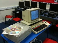 BBC Domesday System in a Classroom Hire