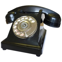 Retro Telephones Propriete Black Phone