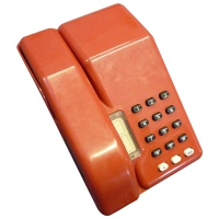 Retro Telephones British Telecom Telephone (Red)