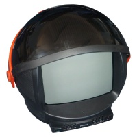 TV & Video Props Philips Discoverer Television - Helmet TV