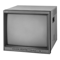 TV & Video Props JVC TM-2100 Broadcast Video Monitor