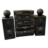Technics 90s High End Stack System (Black) Hire