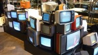 Kurt Geiger - Retro TV Art Installation Hire