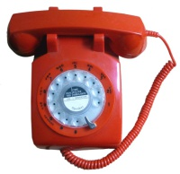 Retro Telephones Steepletone STP1960 Telephone - Red