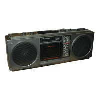 Panasonic Ghetto Blaster RX-4922L Hire