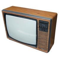 Ferguson Colourstar TX 3765B Wooden Case Television  Hire