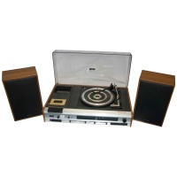 Waltham STM30 70's Turntable Music Centre  Hire