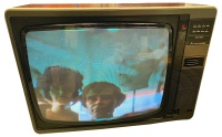 Mitsubishi Colour Wooden Case TV CT-2617TX Hire