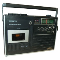 Crown Radio Recorder CB-500