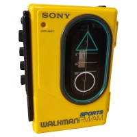 Sony Sports Cassette Radio Walkman - WM-F35