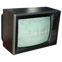 TV & Video Props GEC McMichael Wooden Case Television