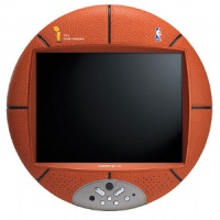 "TV & Video Props Basketball 15"" LCD TV"