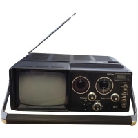 TV & Video Props Prinz TCR20 Television Clock Radio