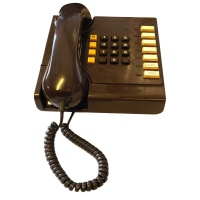 Brown British Telecom House Phone