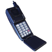 Black Motorola Brick Mobile Phone Hire