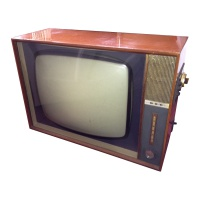 TV & Video Props GEC Wooden Case Television