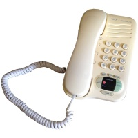 Retro Telephones BT Response 130 Corded Phone with Built-In Answering Machine