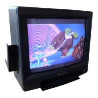 "TV & Video Props Mitsubishi 14"" Colour Portable TV - CT-13M2TX"