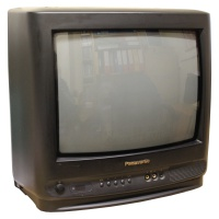 TV & Video Props Panasonic TC-14S1R Portable TV