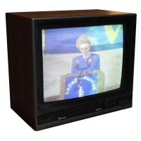 TV & Video Props Mitsubishi CT-2101TX TV
