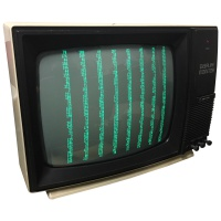 Computer Props Sanyo - Display Monitor - Green Screen
