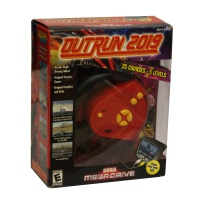 Outrun 2019 Sega Megadrive TV plug in game Hire