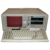 Computer Props IBM Portable PC - Model 5155