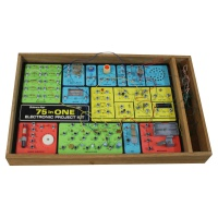 Science FAir - Electronic Project Kit - 75 in 1 Hire