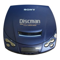 Hi-Fi Props Sony Compact CD player D-191