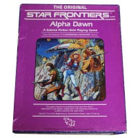The Original Star Frontiers Alpha Dawn Hire