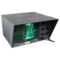 Test Equipment Black Oscilloscope