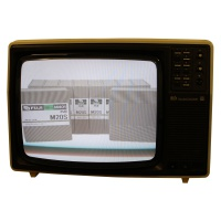 TV & Video Props Pye Studio Colour TV