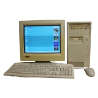 Computer Props Beige Windows 98 PC Setup