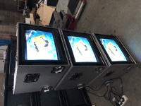 "TV & Video Props Flightcased - 19"" JVC Monitors"