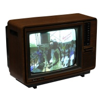 TV & Video Props Mitsubishi Colour Receiver Model CP-149