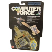 Retro Toys Computer Force ROMM