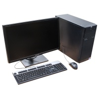 2009 Black HP Proliant ML110 G6 PC Setup  Hire