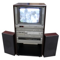 TV & Video Props Fidelity TV and Sound System