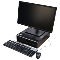 2010 Black HP Compaq PC Setup Hire