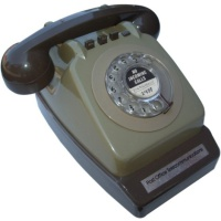 Retro Telephones BT Dial Telephone & Integrated Modem