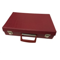 Red Cassette Case - Vinyl Case - Home Use Hire